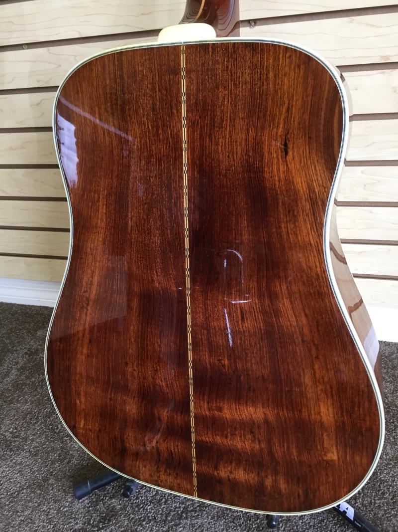 Guitar back after restoration