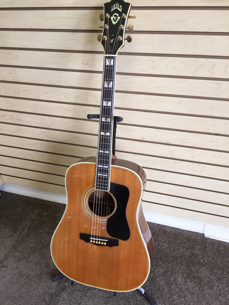 Guitar after restoration